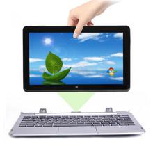 11.6 Inch Convertible Ultrabook touchscreen cpu intel celeron z3537f 32GB SSD + 500GB HD free azerty spanish russian keyboard(China (Mainland))