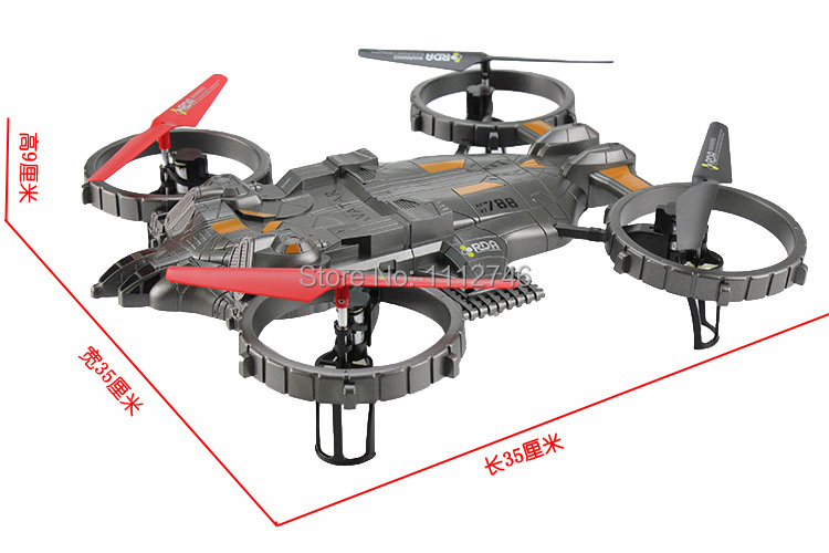 YD-712 2.4G 4-Channel 4-CH RC Helicopter ew Large Remote Control RC 6 Axis UFO Aircraft Built-in Gyro Avatar LED Light plane .(China (Mainland))