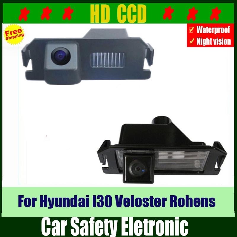 HD Car Rear View Camera for Hyundai Car Rear Backup Reverse Parking Camera for Hyundai I30 09 Veloster 11/12 Rohens coupe 12(China (Mainland))