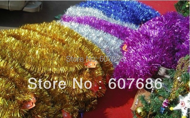 Wholesale pieces tinsel garland cm ems fast free