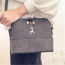 Плечо Сумки через плечо для Для женщин роскошные кожаные Сумки Для женщин Курьерские сумки дизайнер известных брендов 2017 Винтаж SAC основной(China)