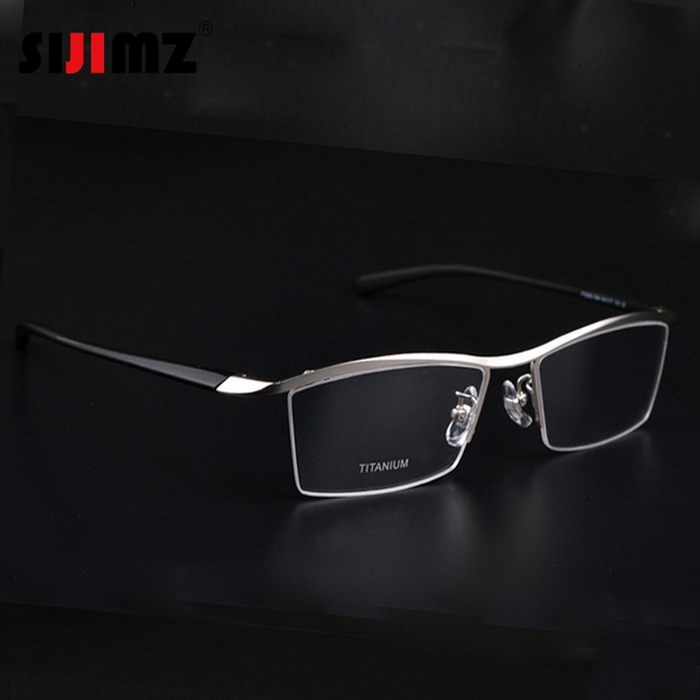Rimless Glasses Trend : 2016 Fashion Titanium rimless eyeglasses frame Brand ...