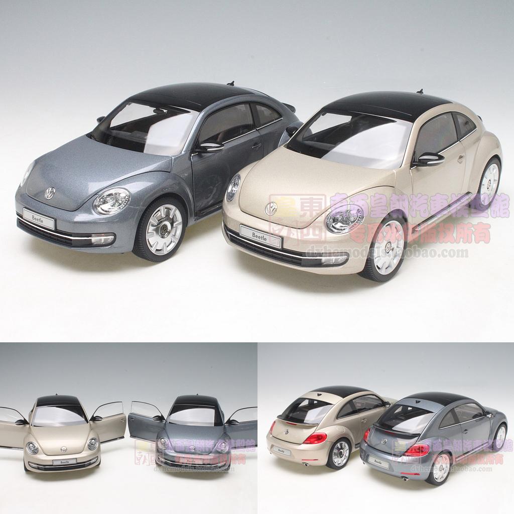 KYOSHO 1:18 New Beetle special Beijing new Volkswagen Beetle model(China (Mainland))