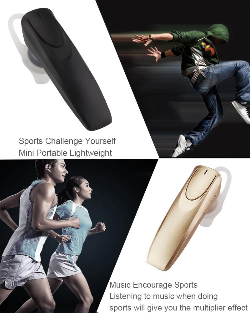 Original ANBES Bluetooth Earphones Headset Headphones Stereo Music Sports Bluetooth Headset Wireless Fone De Ouvido For Phone