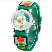 Brand Quartz Wrist Watch Baby For Girls Boys Waterproof Kid Watches basketball Children Fashion Casual Reloj