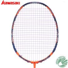 Buy 2017 Five Star 100% Original Kawasaki Top Badminton Racket Professional Force Carbon Fiber Raquette Badminton for $118.49 in AliExpress store