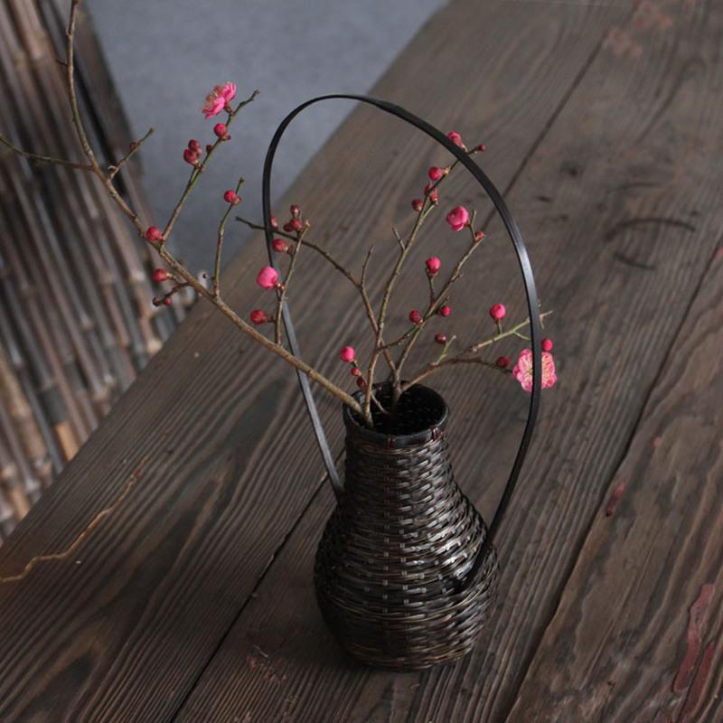 online kaufen gro handel japanische bambus vase aus china. Black Bedroom Furniture Sets. Home Design Ideas