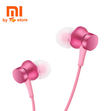 Buy New Original XiaoMi Mi 5 color In-ear basic piston Earphone Mic Wire Control 3.5mm headset Mobile Phone fone de ouvido for $5.99 in AliExpress store