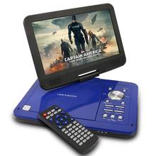 Dbpower 10 '' TFT 1024 * 600 écran DC 12 V 10 W Portable lecteur DVD 180 grau rotatif soutien WMA MP3 AV CPRM SD / MS / MMC carte USB(China (Mainland))
