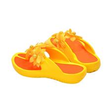 Women Sandals 2016 New Women s Shose Casual Women Summer Camellia Flower Beach Flip Flops Shoes