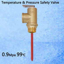 "130PSI 210F TP Valve BSP G3/4"" Temperature and Pressure Relief Valve as TP Safety Valve 0.9Mpa 99 centigrade(China (Mainland))"