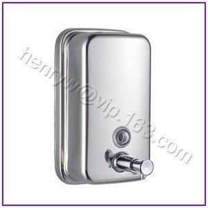 Retail - Luxury Steel Soap Dispenser, Manual Bathroom Liquid Soap Dispenser, 500ML, Free Shipping L15209-Small