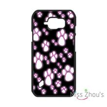 For iphone 4/4s 5/5s 5c SE 6/6s 7 plus ipod touch 4/5/6 back skins mobile cellphone cases cover Pink Paw Prints