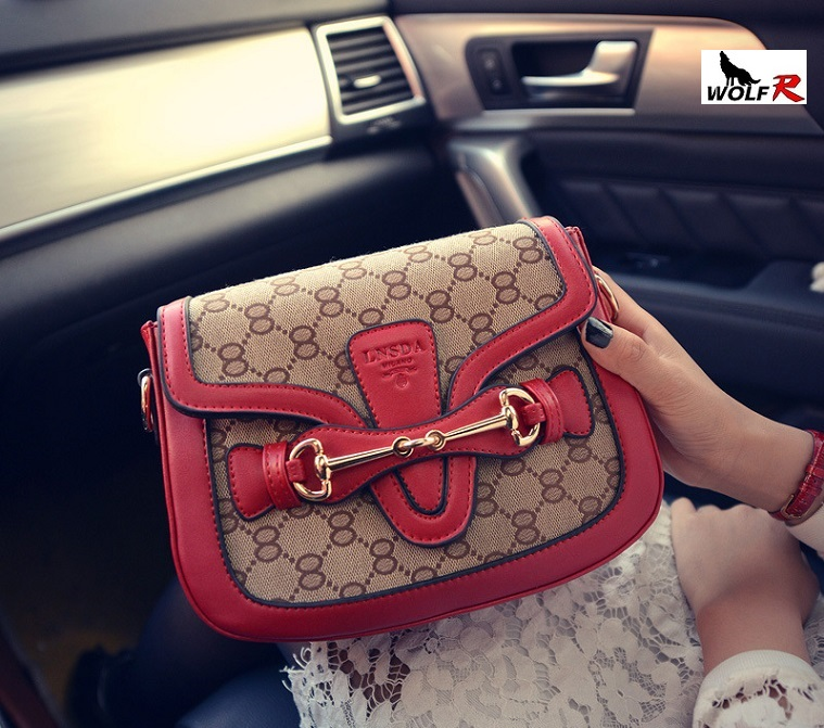 2016 Spring Flat Handbag New Fashion PU Leather Women Big Shoulder Bags Hasp Soft Ladies Bag High Quality Bolsas Femininas(China (Mainland))
