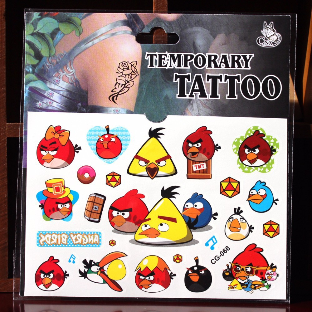 Kids temporary bird tattoo pictures to pin on pinterest for Temporary tattoos kids