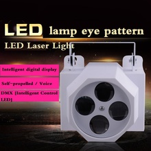 LED eye motif light stage lighting fixtures equipment t8 / LED Laser Light(China (Mainland))