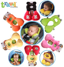Brand Benbat Travel Friends out of friends for 1-4 Years Old Children's Cartoon Baby pillow Baby Pillow Kids Occipital Stiffness(China (Mainland))