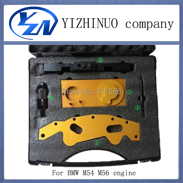 YN 5 pcs timing chain tool car lock picking tools for M52TU M54 M56 engine camshaft car accessories automobiles accessories(China (Mainland))
