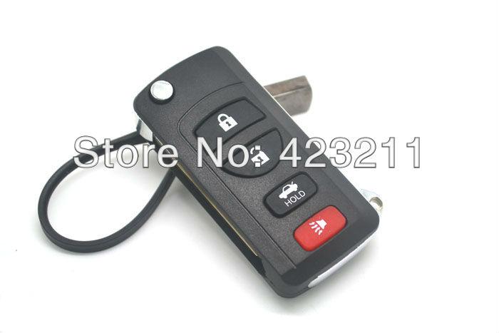 Folding Remote Key Shell Case Nissan Infiniti G35 I35 350Z 3BT + Panic FT0244 - onshowing store