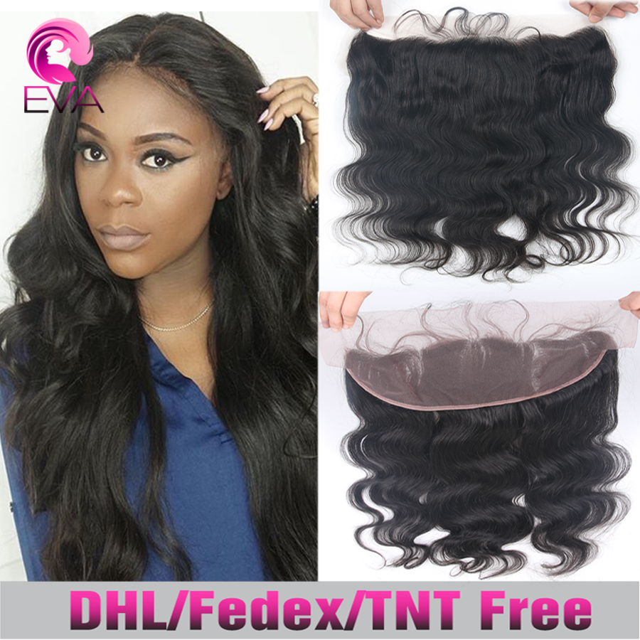 150% Density Lace Frontal Closure Body Wave Virgin Human Full Lace Frontal Closure 13x4 Ear To Ear Lace Frontals With Baby Hair()