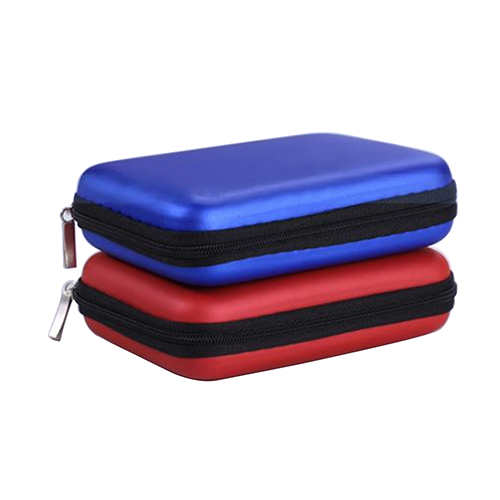 New 5 Cable HDD Hard Disk Pouch Portable Power Hand Carry Bag Case Cover Protects