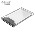 ORICO 2 5 inch Transparent Sata3 0 to USB3 0 HDD Case Tool Free 5 Gbps