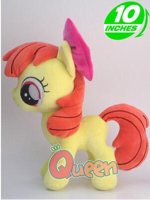 Anime Friendship Is Magic Rarity Kunai Horse Unicorn Apple Bloom  Figures Doll Plush Kids Toys Holiday Christmas Gift<br><br>Aliexpress