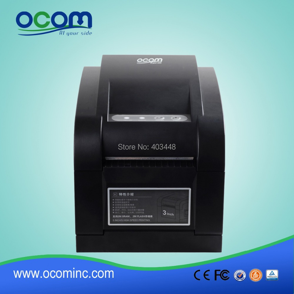 3 Interfaces User friendly Thermal Sticker Printer Machine<br><br>Aliexpress