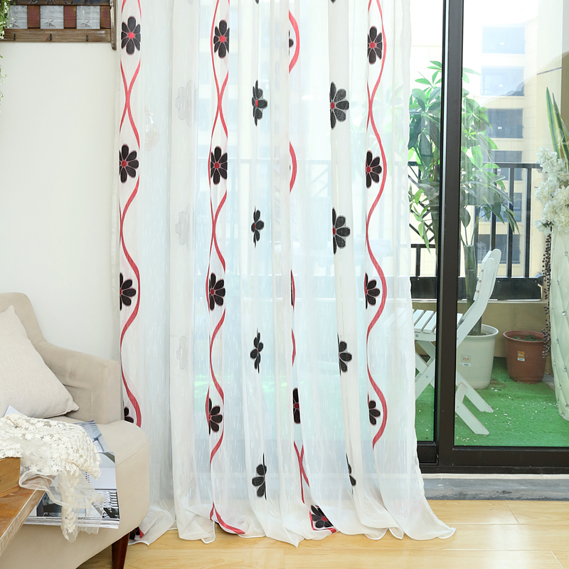 Modern curtain kitchen ready made bronze color curtains window elegant living room home drapes(China (Mainland))