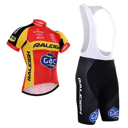 Pro team Raleigh cycling jersey kit/breathable bicicleta cycling clothing/ropa cicliso MTB bike jersey with cycling bib shorts(China (Mainland))