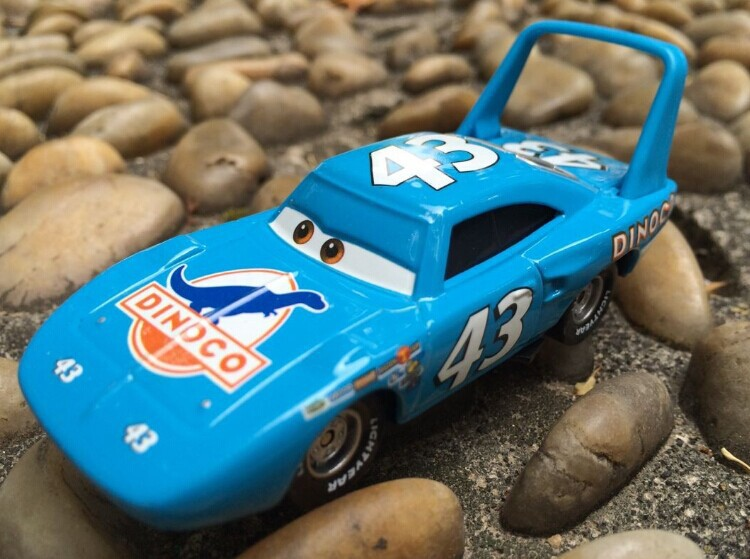 blue Cocky Pixar Cars Diecast No.43 Race Team The King Metal Toy Car 1:55 jugetes trenes tomy toy model cars toys for children(China (Mainland))