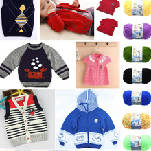 Buy 2016 Fashion DIY Milk Cotton Yarn Baby Wool Yarn Knitting Children Hand Knitted Yarn Knit Blanket Thread Crochet Yarn for $1.40 in AliExpress store