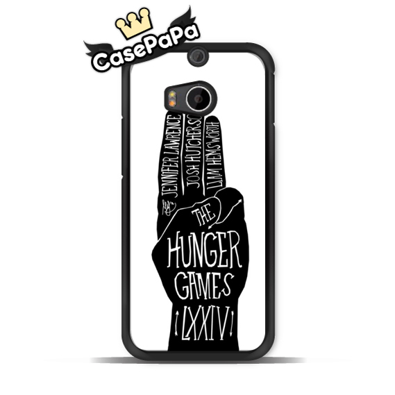 Hand Gesture Hunger Games Protective Case For HTC One M9 M8 mini M7 X S Max Desire 820 816 For Motorola Moto G2 G X2 X E Classic(China (Mainland))