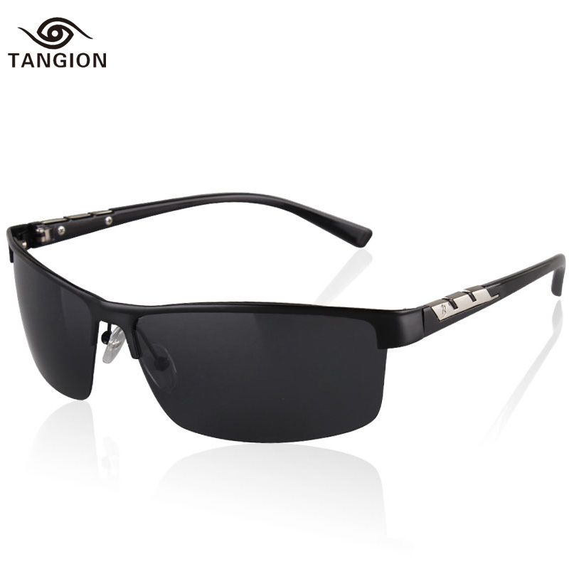 2015 Men Polarized Sunglasses High Quality Promotion Polarizing Man Glasses Outdoor Sport Rimless Male Polaroid Eyewear