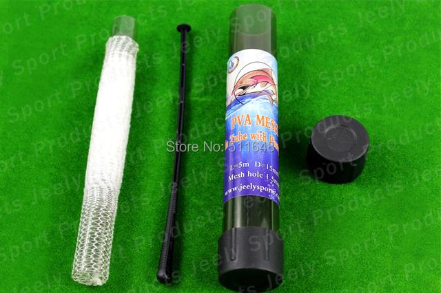 Free shipping Slow Solution 18MMX5M Carp Fishing Bait Dissolve PVA mesh