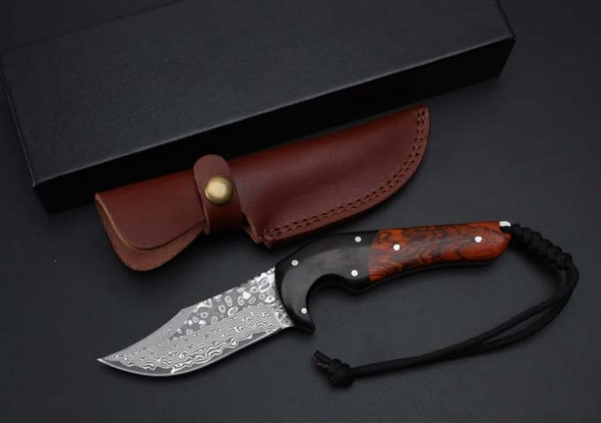Buy Fixed Blade Knives Collection Damascus Utility Survival Tactical Knife Camping Hunting Knife Outdoor Tools EDC Multi Knives Tool cheap