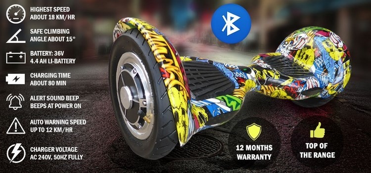 2017 Bluetooth Hoverboard + Karting Electric Scooter Self Balance Board