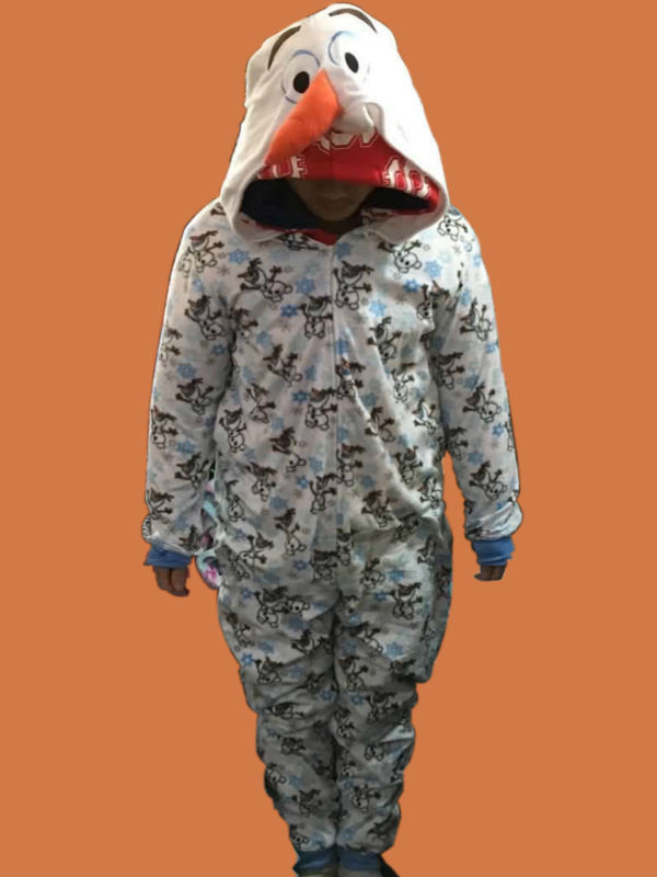 2016 Unisex Adult Snow Olaf Costume Onesies Pajamas Jumpsuit Hoodies Adults Cosplay Costumes Snowman - ANHUI RUIQIQIAN TRADE CO,. LTD store