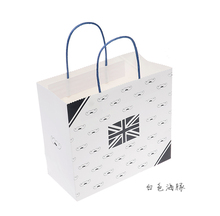 Wholesale logo printed luxury paper bags for clothing packing, 25*22.5*12 cm,Type 135(China (Mainland))