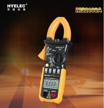 Hot Digital AC / DC resistencia Clamp Meter 4000 condes tierra unidad Megohmmeter resistencia tierra Tester multímetro HYELEC MS2108A