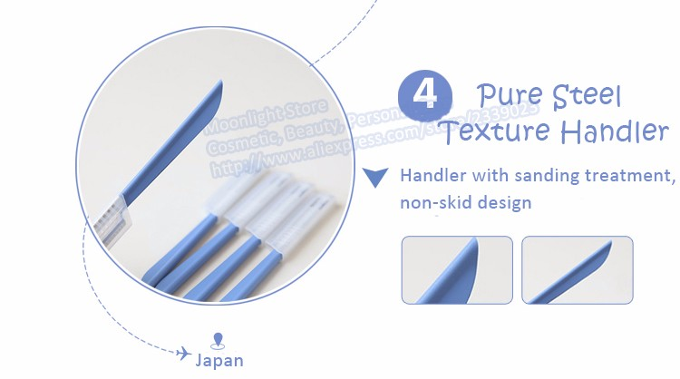 Steel Eyebrow Razor Japan Brand COSMOS KAI Eyebrow Trimmer Styling Tool Knife Shaper Shaver Blade Facial Hair Remover from Japan