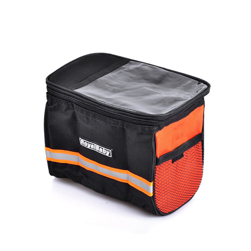 Kids Bike Bicycle Handlebar Bag Cycling Front Basket Pannier Frame Tube Pocket Detachable Bicicleta Front Bag Basket Cycling Bag(China (Mainland))