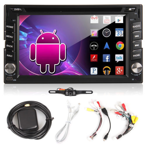 Android 3G 2Din Car DVD Stereo In Dash HD TouchScreen Car Radio Media Player built-in GPS Navigation WIFI+Free backup Camera+TV<br><br>Aliexpress