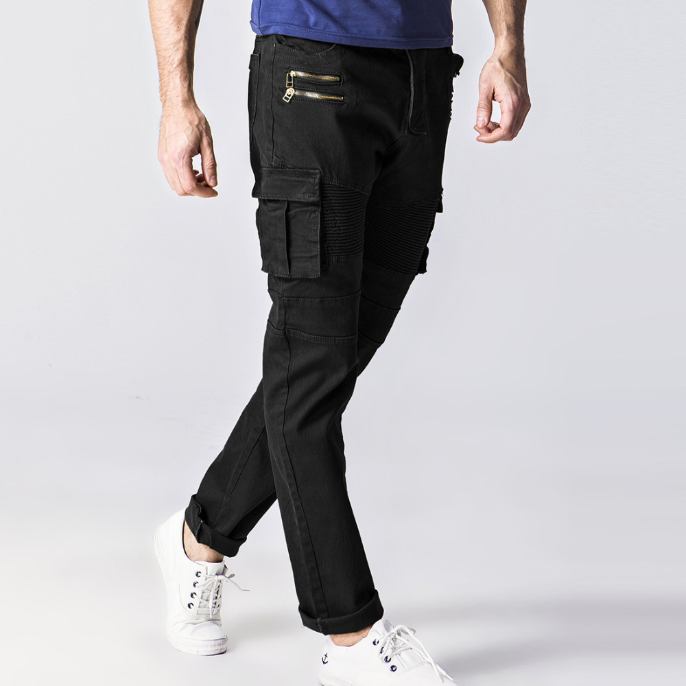Slim Fit Pleated Pants