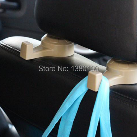 4pcs/lot Auto Car Venicle Seat Bag Hook Headrest Accessories Holder Organizer Hang and convenience bag<br><br>Aliexpress