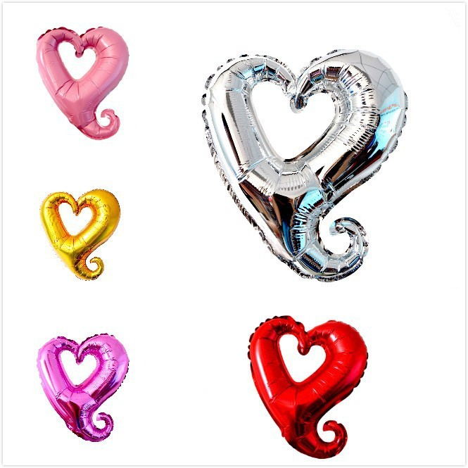 wholesale 50pcs/lot 30inch Anagram Balloon heart shape foil ballons big size party balloons 100% good quality<br><br>Aliexpress