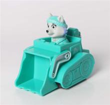Free Shipping 8pcs/lot cheap patrol dogs team anime action figures toy patrol dog model toys juguetes la patrulla canina toys(China (Mainland))