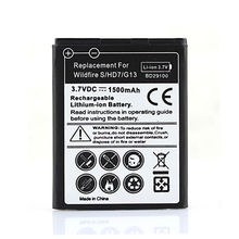 Phone Replacement 1500mAh Battery Batteries Bateria For HTC HD3 HD7 T9292 Wildfire S G13 A510E Free Shipping Wholesale(China (Mainland))