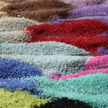 fedex freeshipping 24 color sand high quality home decoration for weddings, 500g/bag, wholesale(China (Mainland))