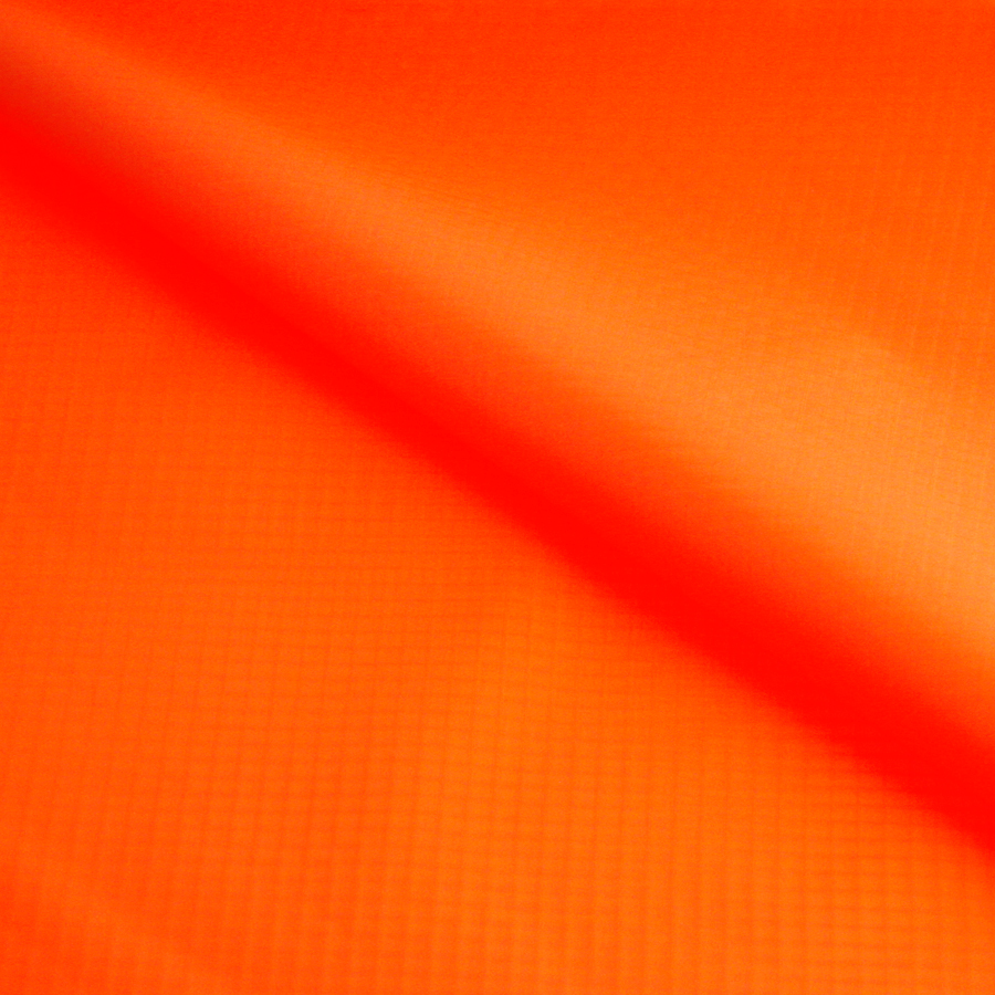 Orange Color 1.55M Wide x 1M Long Lightweight Nylon Waterproof Outdoor Fabric Sun Blackout Ripstop Coated Fabric for Awnings(China (Mainland))